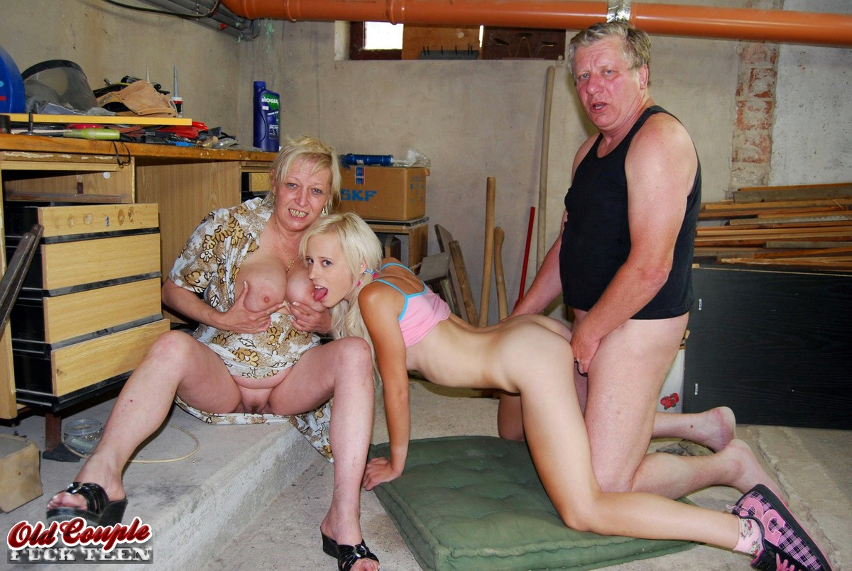 Old Couple Fuck Young Couple
